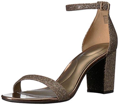 Bandolino Women's Armory Heeled Sandal, Bronze, 8.5 M (Bronze Heeled)