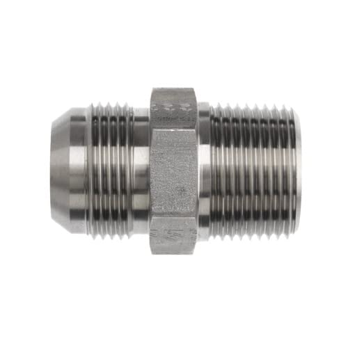 3//8 Tube OD x 1//8 NPT Male x 3//8 Tube OD Brennan PCNY2601-06-06-02 PBT Push-to-Connect Tube Fitting Branch Tee