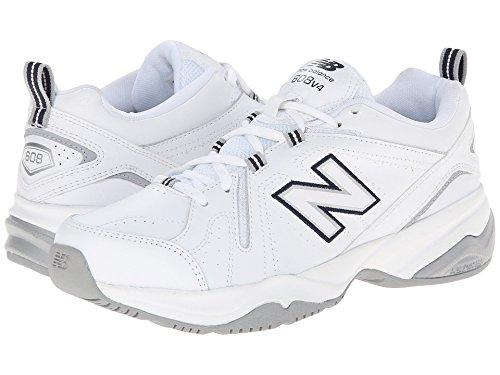 変化誰か顔料(ニューバランス) New Balance レディーストレーニング?競技用シューズ?靴 WX608v4 White/Blue 10 (27cm) B - Medium