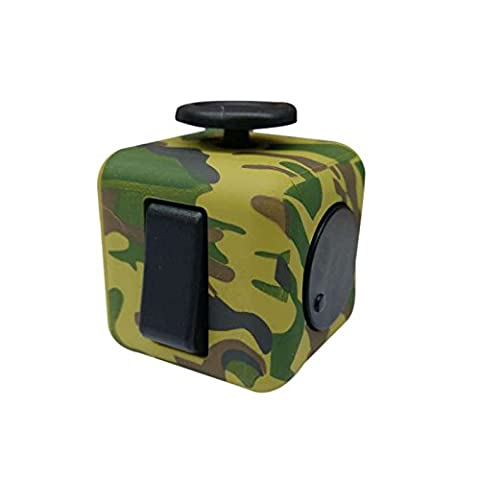 New Arrival Fidget Cube Anxiety Stress Relief Focus Toys Gift Camouflage Army. (Eden Harness)