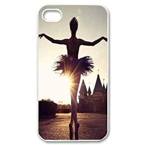 ballet Design Discount Personalized Hard Case Cover for iPhone 4,4S, ballet iPhone 4,4S Cover