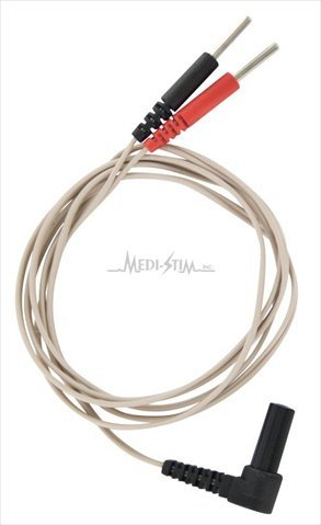 EMPI LW193057-100 40 in. Right Angle Lead Wire Fits 300PV, Epix, Focus, Select Units