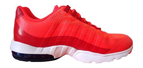 Nike Wmns Air Max 95 Ultra, Zapatillas de Deporte para Mujer Naranja (Brght Crmsn / Lyl Bl-Unvrsty Rd)