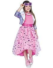 Ciao -Barbie Diva Princess kostuum kinderen origineel (maat 4-5 jaar), roze, 11655.4-5