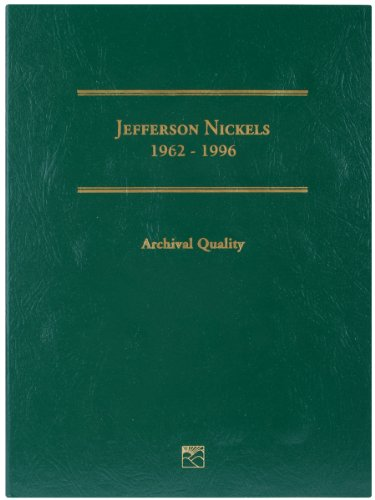 Littleton Jefferson Nickel Folder, 1962-1996 Volume 2