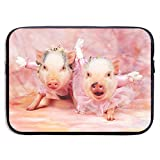 Xxh 15Inch Laptop Sleeve Case Pig Neoprene Cover Bag Compatible MacBook Air/Pro