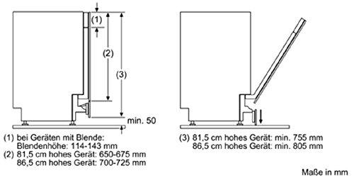 Siemens Sz73010 Geschirrspulerzubehor Klappscharnier Fur Hohe