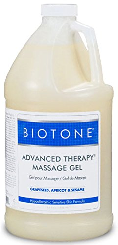 Biotone - Advanced Therapy Massage Gel 1/2 Gallon by Therapy Best Buys