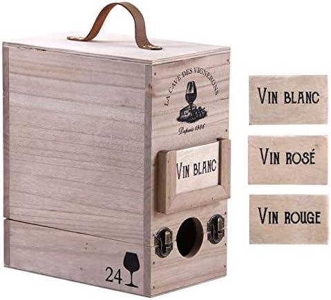 Compra Caja de 3 litros de madera en Amazon.es
