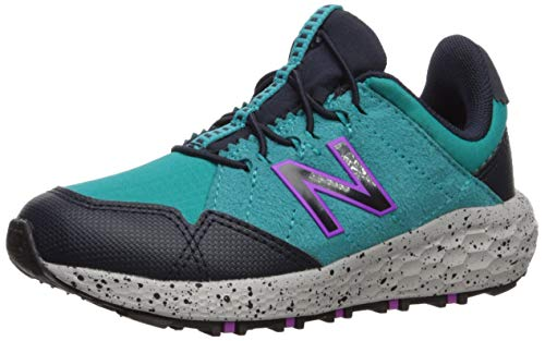 New Balance Girls' Craig V1 Running Shoe, NEON Aqua Blue/Eclipse/Voltage Violet, 6 W US Toddler