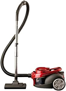 Necchi NH9010 aspirador - Aspiradora (2200W, 300W, 230V, Cilindro, Sin bolsa, Metal) Rojo