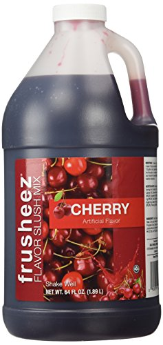 - Cherry Frusheez Slush Mix (1/2 gallon)