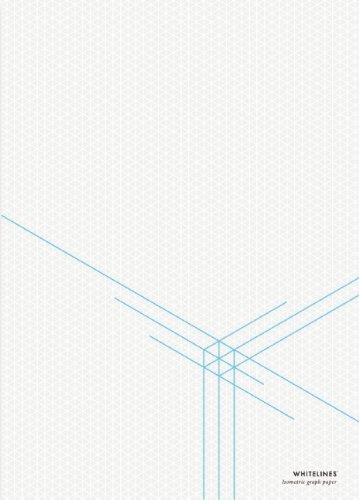 Whitelines Orange Glue A4 3-D Dimension Notepad (2011-02-22)