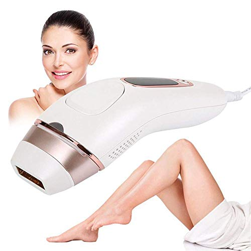 (IPL Hair Removal Device, 200000 Flashing Permanent Hair Removal for Women and Men Painless Permanent Hair Removal Beauty Machine, Face Bikini Zone)