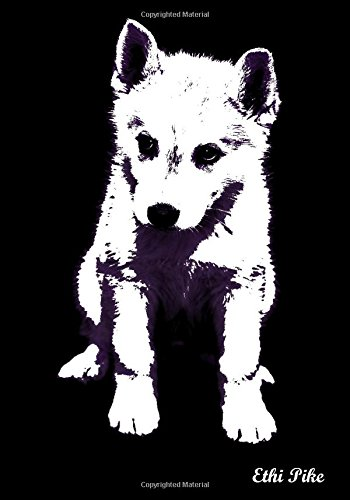 Download Ethi Pike - Black White Purple Husky Puppy Notebook / Extended Lines / Soft: An Ethi Pike Collectible Journal : Animals pdf