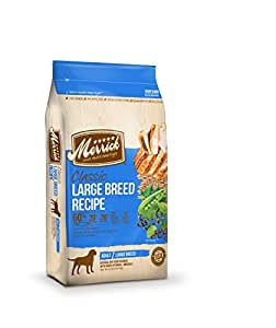 Merrick Classic Large Breed Real Chicken, Brown Rice and Green Pea Dry Dog Food, 15-Pound