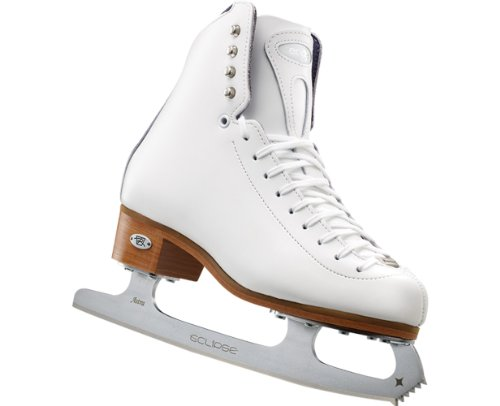 Riedell Edge Junior Girls Figure Skates with Eclipse Astra Blades by Riedell