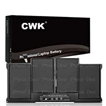 """CWK™ Replacement Laptop Notebook Battery for A1405 Apple MacBook Air 13"""" A1369 Mid 2011 A1466 2012 A1405 020-7379-A 661-5731 661-6055 661-6639 Apple Macbook Air 13"""" 2011 A1466 2012 020-7379-A"""