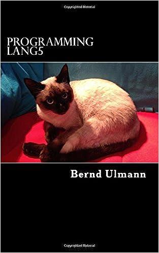 Book Programming Lang5