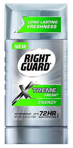 Right Guard Xtreme Fresh 2 6 Ounce Energy Solid  76Ml   2 Pack