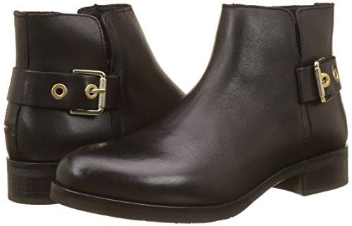Boots Hilfiger black Tommy T1285essa Women''s Chelsea 1a Black ZU1ZwaXqx