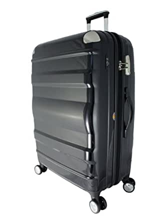 """Crown Edition By Heys USA Crown XLV 22"""" Spinner Carry On - Black"""