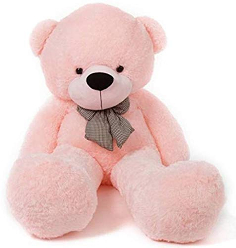 WOWMAX 4 Foot Pink Giant Huge Teddy Bear Cuddly Stuffed Plush Animals Teddy Bear Toy Doll 47