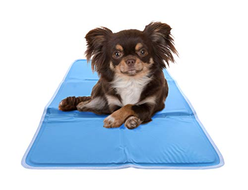Hugs Pet Products Chillz Pressure Activated Pet Cooling Gel Pad - No Need To Freeze Or Chill - Keep Your Dog Cool and Reduce Joint Pain - ()
