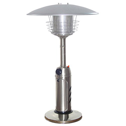 Portable Table Top Stainless Steel Patio Heater $44.36 (Was $129)