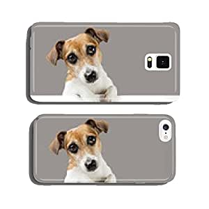 Cute dog placard cell phone cover case Samsung S5