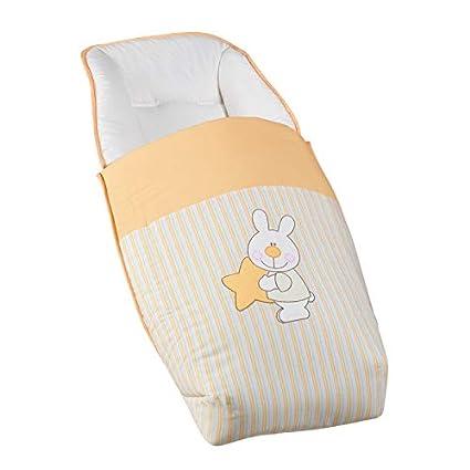 Saco para silla de bebe universal bordado CONEJITO ESTRELLA ...
