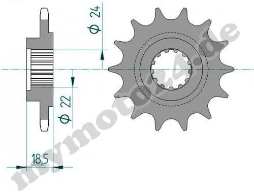 ZR750L 15-43-112 DID520VX2 DID Kettensatz Alu Kawasaki Z750 ABS G/&B Bj.2007 Niet