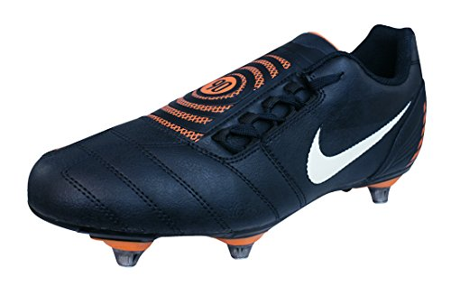 Shoot Fg Mens Soccer Shoe - Nike Total 90 Shoot II Extra SG Boys Soccer Boots/Cleats-Black-5.5