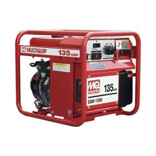 Multiquip GAW135H Gasoline pushed Welder/Generator by mean of  Honda Motor, 1500 WATT, 40-135 Amps Reasonable Price