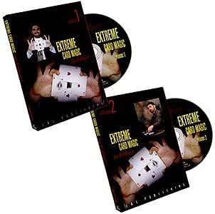 SOLOMAGIA Extreme Card Magic (2 DVD Volume Set) by Joe Rindfleisch - DVD and Didactics - Trucos Magia y la Magia: Amazon.es: Juguetes y juegos