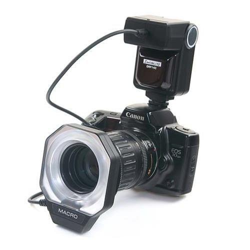 Adorama DRF-14 Macro Ring Flash Dedicated for Nikon iTTL Digital Cameras by Adorama