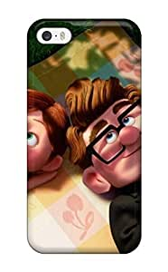 Series Skin Case Cover For Iphone 5/5s(animated Movie Up Young Romantic Cartoon Couple) by icecream design
