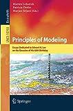 Principles of Modeling: Essays Dedicated to Edward