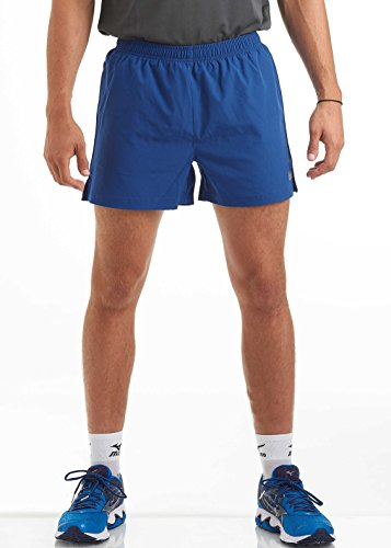 time to run Men's Lightweight Training/Gym/Athletic/Workout Running Shorts With Liner By XL Deepwater Blue