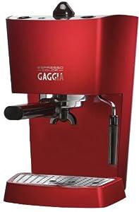 Gaggia 74841 Espresso Coffee Maker Deep Red : Gaggia 74841 Espresso Coffee Maker, Deep Red: Amazon.co.uk: Kitchen & Home