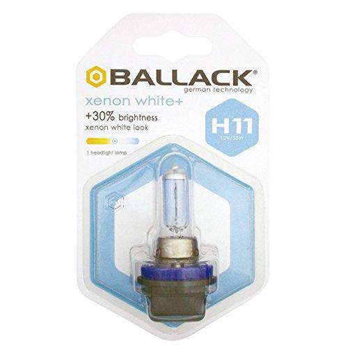 12V 55W BALLACK 1178247 Lampada H11 Xenon White