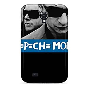 Scratch Resistant Hard Phone Cases For Samsung Galaxy S4 With Custom Realistic Depeche Mode Pattern DannyLCHEUNG