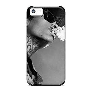 MMZ DIY PHONE CASEShock Absorbent Cell-phone Hard Covers For ipod touch 5 With Custom Colorful Wiz Khalifa Series JacquieWasylnuk