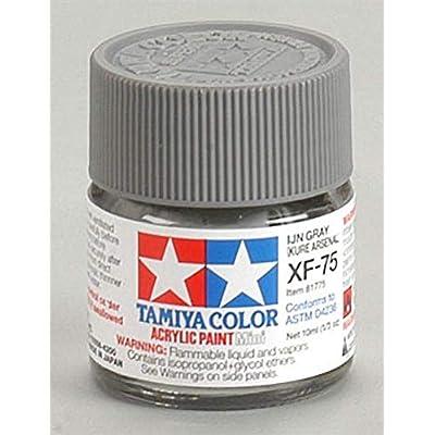 Tamiya America, Inc Acrylic Mini XF75 IJN Gray, TAM81775: Toys & Games