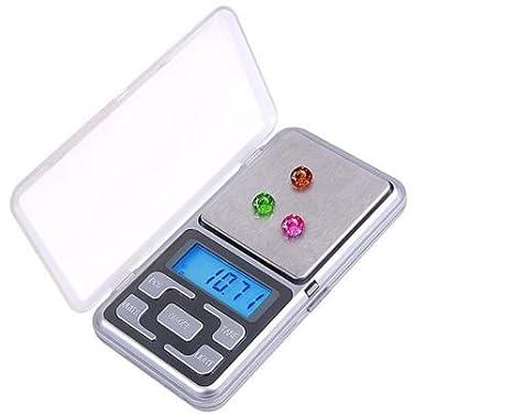 Balanza de mano bascula electrónica digital portátil pesa de alta precision 0.1g a 500g POCKET SCALE: Amazon.es: Bricolaje y herramientas