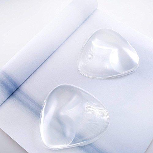 Silicone Breast Inserts - Waterproof Enhancers Bra Inserts A to C Cup for Swimsuits & Bikini by FJYQOP by FJYQOP (Image #2)