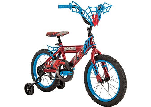 Huffy Boys' Marvel Spider-Man 16 in Bicycle (blue black) by Huffy (Image #2)