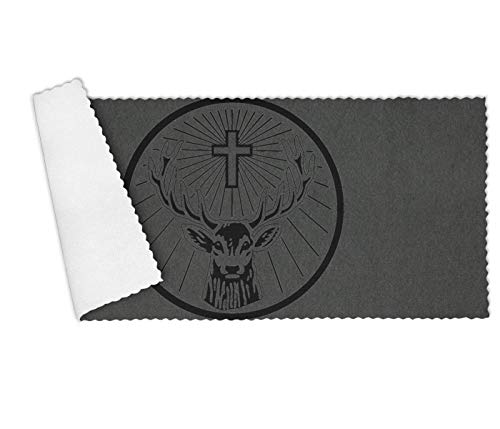 DGNMAOQ Christian Crucifix Deer Premium Multi-Functional Towel Set for Kitchen,Restaurant,Hotel,Dishwashing Soft and Durable