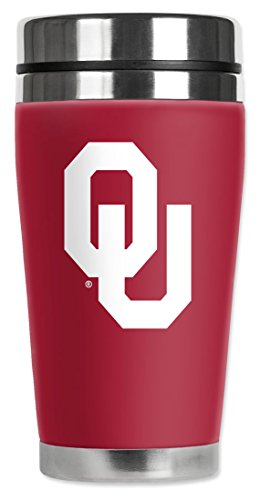 Oklahoma Sooners Stainless Steel Thermos - 3