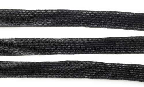 Weave Middy Black Braid Trims 1/2